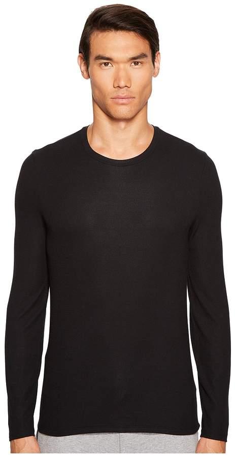 ATM Anthony Thomas Melillo Modal Rib Long Sleeve Crew Men's Long Sleeve Pullover