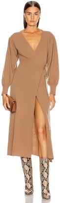 Andamane Eleanor Cashmere Dress in Beige   FWRD