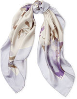 Ralph Lauren Carlotta Floral Silk Scarf