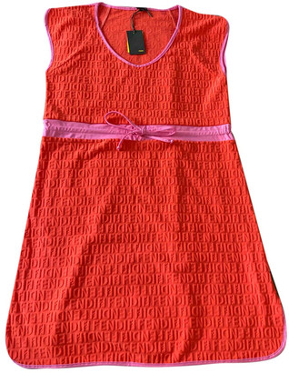 Fendi Orange Synthetic Dresses