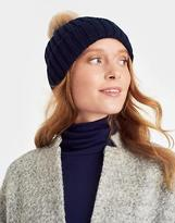 Joules PopinAinPom Bobble Hat in French Navy in One Size