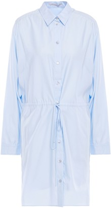 Stella McCartney Cotton-poplin Mini Shirt Dress