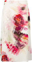 Lanvin chiffon A-line floral skirt - women - Silk - 36