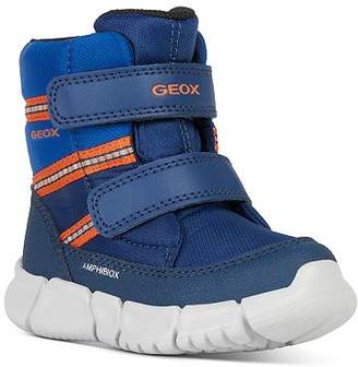 Geox Boys' C Flexyper Striped Waterproof VELCRO® Boots - Toddler