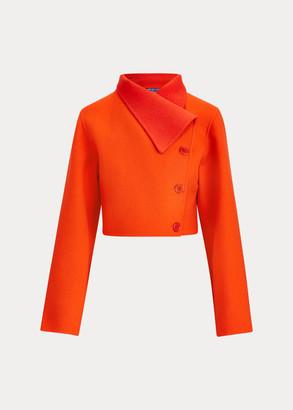 Ralph Lauren Jamie Two-Tone Wool Jacket