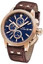 TW Steel 'CEO Adesso' Quartz Casual Watch, Color:Brown (Model: CE7018)