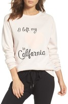 The Laundry Room Women's Heart In California Lounge Sweatshirt