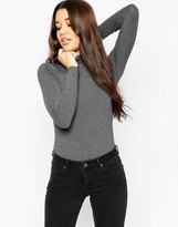 Asos Turtleneck Body With Long Sleeves
