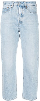 Levi's Wedgie Montgomery straight jeans