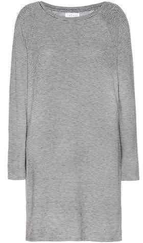 Velvet Diya striped jersey dress