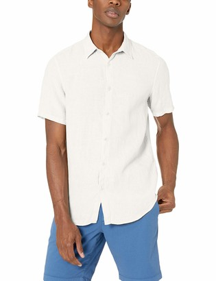 Theory Men's Irving SS Summer Linen