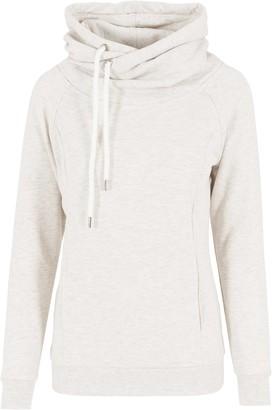 Urban Classics Women's Kapuzenpullover Ladies Raglan High Neck Hoody Sweater