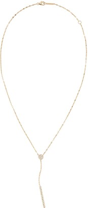 Lana Diamond Cluster Y-Necklace