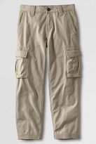 Lands' End Boys' Washed Cargo Chino Pants