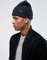 Selected Homme Beanie In Textured Knit