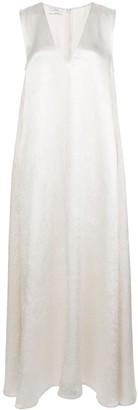 Co V-Neck Maxi Dress