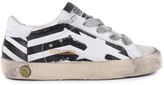 Golden Goose Deluxe Brand Flag Superstar leather trainers