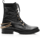 Lanvin Leather Biker Boots