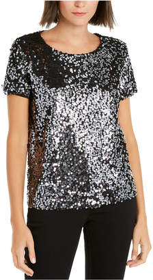 INC International Concepts Inc Sequined T-Shirt