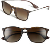 Ray-Ban Women's 'Youngster' 54Mm Square Keyhole 54Mm Sunglasses - Brown