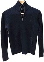 Ralph Lauren Navy Cashmere Knitwear