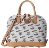 Dooney & Bourke Collegiate Zip Zip Satchel Satchel Handbags