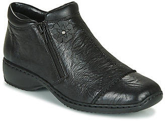 Rieker DORAN women's Low Boots in Black