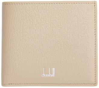 Dunhill Beige Leather Duke Billfold Wallet