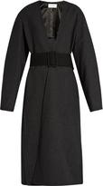 Lemaire Lightweight wool wrap coat