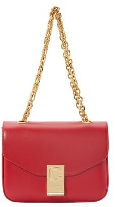 Celine Small C Bag In Polished Calfskin