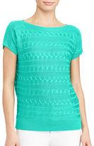 Lauren Ralph Lauren Petite Cable Knit Sweater