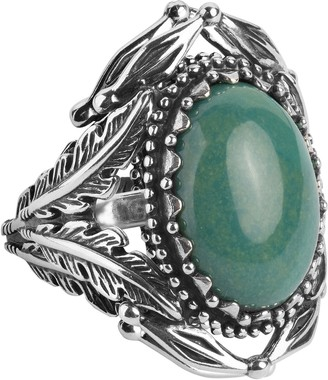 American West Classics Sterling Silver Gemstone Ring