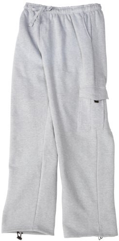 Southpole Men's Big And Tall Basic Fleece Cargo Pants