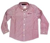 Ben Sherman Kid's Red Striped Classic L/S Shirt