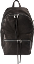 Rick Owens zipped backpack - men - Calf Leather/Lamb Skin - One Size