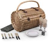 Picnic Time Barrel Picnic Basket - Dahlia Collection