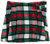 Carter's Pleated Plaid Cotton Skirt, Little Girls and Big Girls