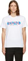 Kenzo White Popcorn Logo T-Shirt