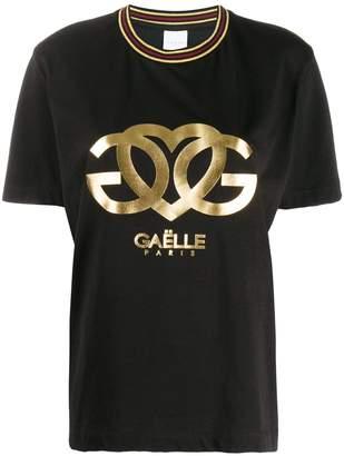 Gaelle Bonheur logo printed T-shirt