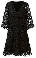 See by Chloé Floral Velvet Dress