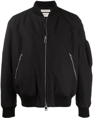 Bottega Veneta Zipped Pockets Bomber Jacket