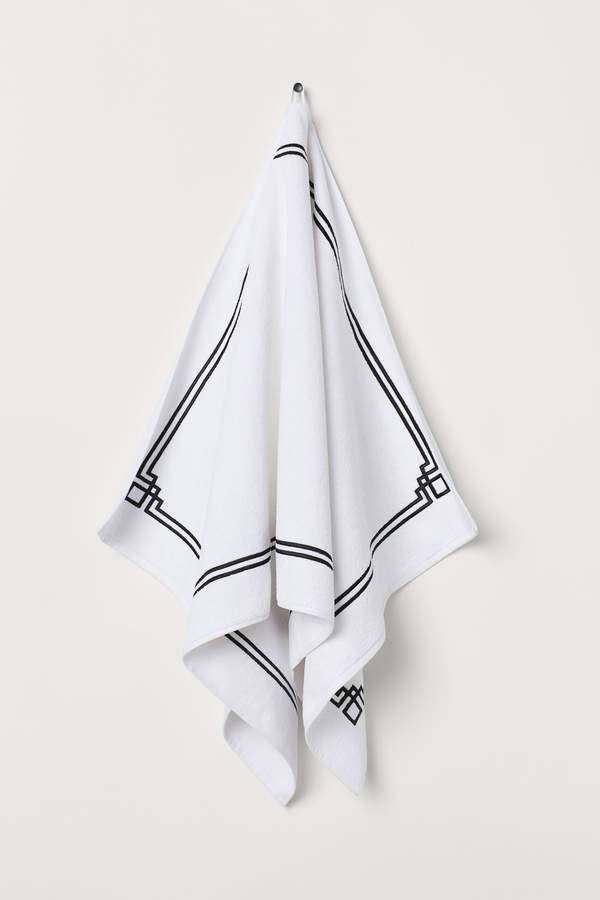 H&M Cotton Terry Bath Towel