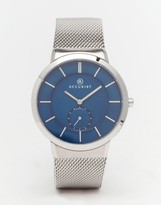 Accurist Classic Silver Stainless Steel Watch