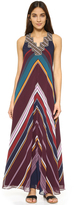 Twelfth St. By Cynthia Vincent Ziggurat Maxi Dress