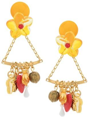 AMIR SLAMA Penduricalho earrings