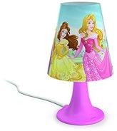 Philips Disney Princess Children's Bedside LED Table Lamp - Pink