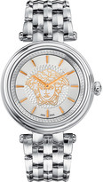 Versace VQE110016 khai stainless steel watch