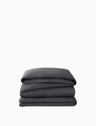 Calvin Klein Modern Cotton - Body Duvet Cover In Charcoal