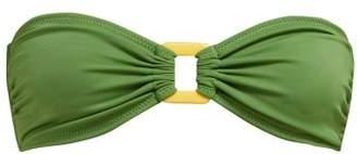 Solid & Striped The Tati Bandeau Bikini Top - Womens - Green