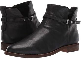 Franco Sarto Optimal (Black Leather) Women's Shoes